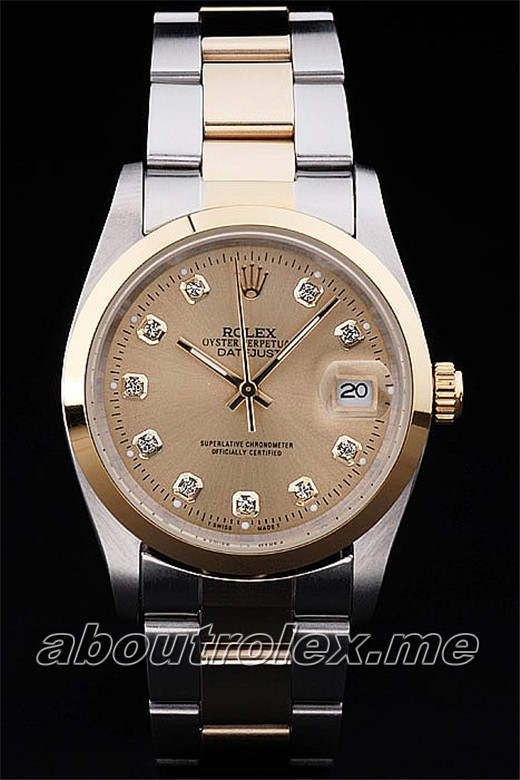 Rolex Datejust Replica 89A Diameter 45 x 37 mm