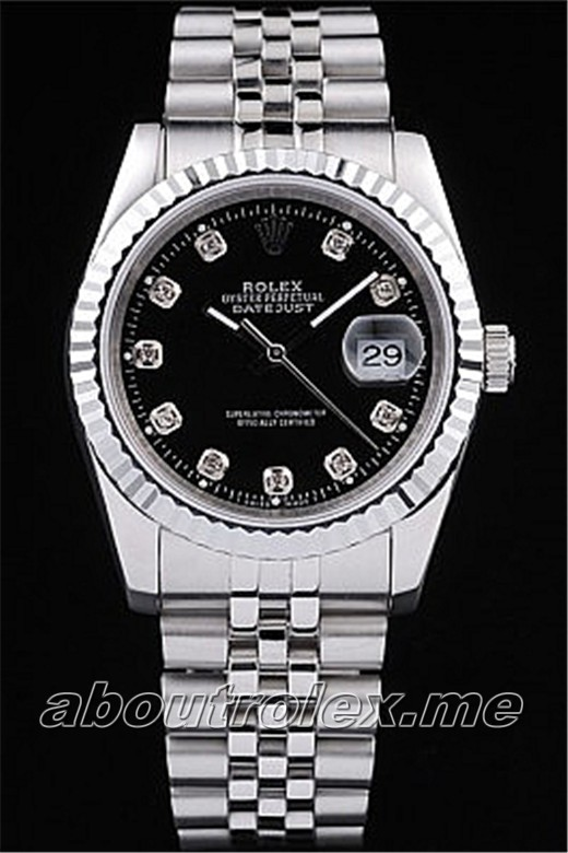 Rolex Datejust Replica Swiss Watches 4696 Thickness 12 mm