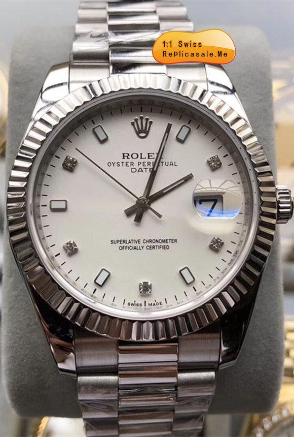Verbazingwekkend Rolex Daydate Replica 914L Swiss-ETA-7750-201805A : Sales Best KF-09
