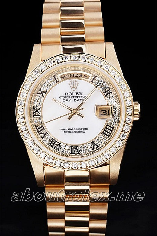 Best Rolex Day-Date Replica 30H Flip Clasp