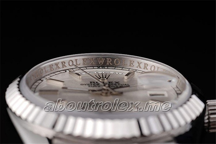 Rolex Day-Date Silver 09L Online