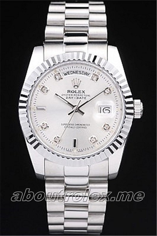 Cheap Rolex Day-Date 218239 Replica Stainless steel 011C