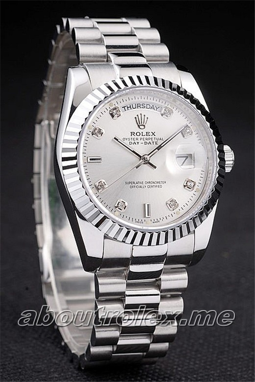 Replica Rolex Day-Date Stainless steel 011C