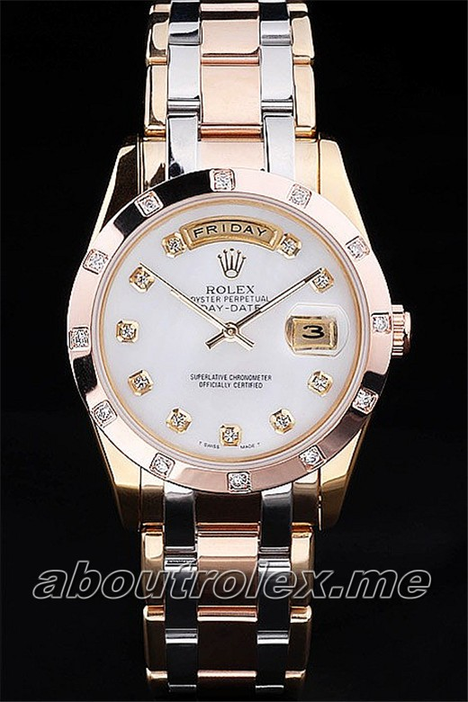 Cheap Rolex Day-Date 31A White Diamonds outer plate