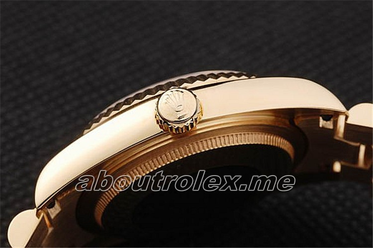 High Quality Rolex Day-Date Replica 02B 18k yellow gold case