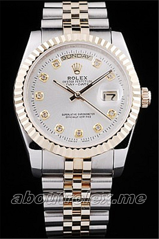 Luxury Rolex Day-Date Replica 06D Sapphire Crystal Glass