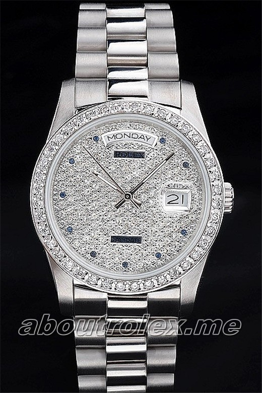 Luxury Rolex Day-Date Replica 32C Diamonds