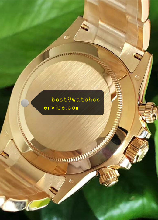 1:1 18k-Gold Replica Daytona Gradient Dial Watch