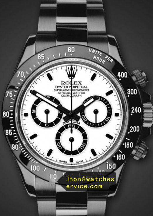 Fake Black PVD Rolex Daytona 116500LN Watch