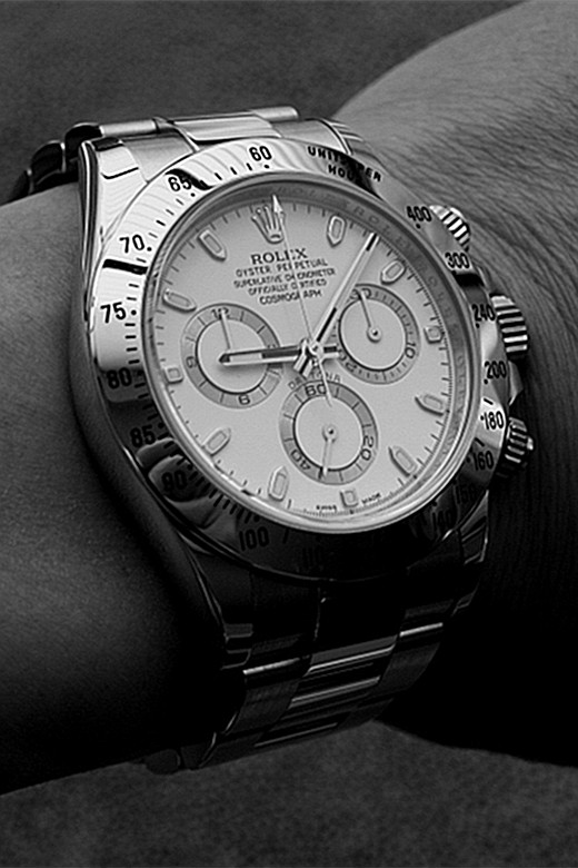 Men's Rolex Daytona Replica 116520-78590 White Plate