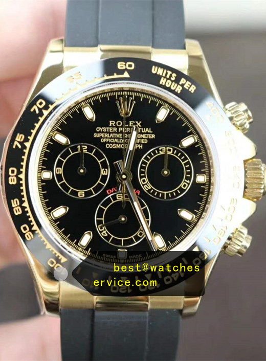Rubber Strap Fake Rolex Daytona m116503 Watch