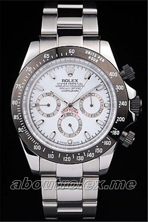 Best Rolex Daytona Replica White Dial 8B