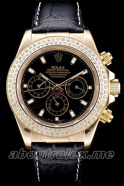Cheap Rolex Daytona Replica Crocodile Skin 10A