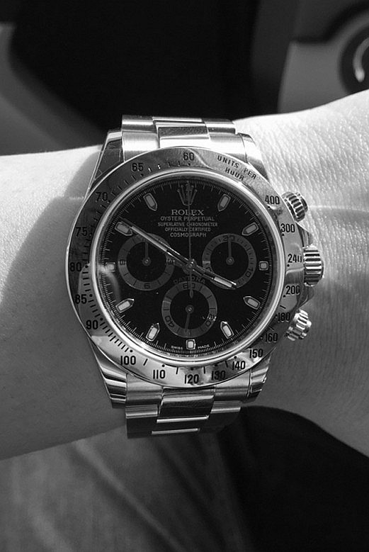 Replica Rolex Daytona 116520-78590 Black Plate