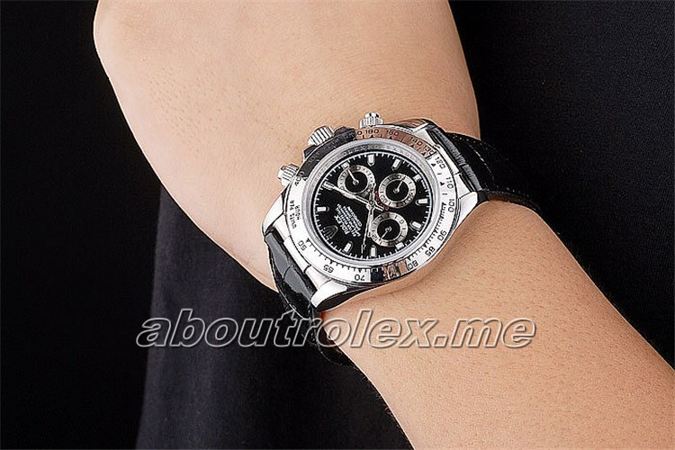 Luxury Rolex Daytona Replica rl84 Polished stainless steel case