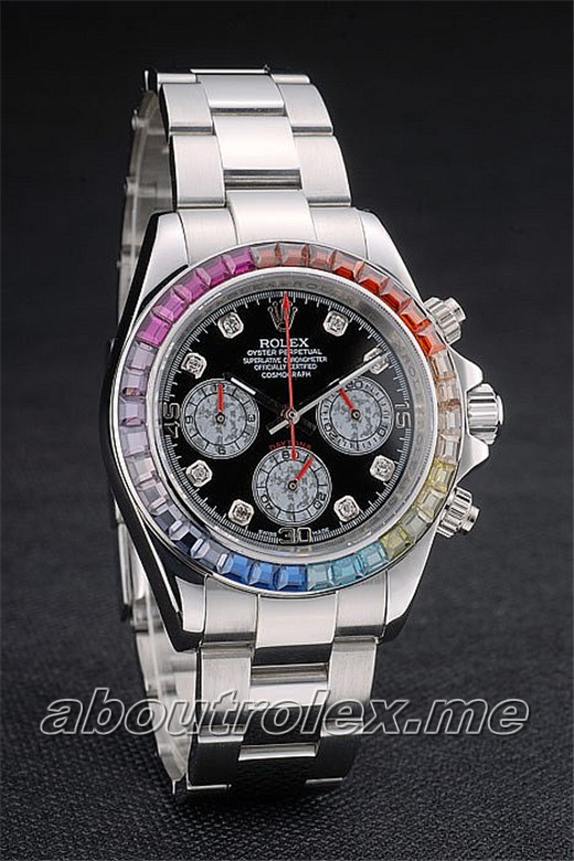 Buy Men\'s 1:1 Rolex Daytona Replica 116599 RBOW Platinum Version