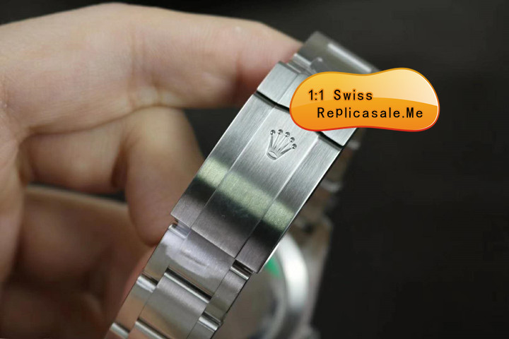 Rolex Air-King 116900 904L Steel Luminous Pointer 0598A