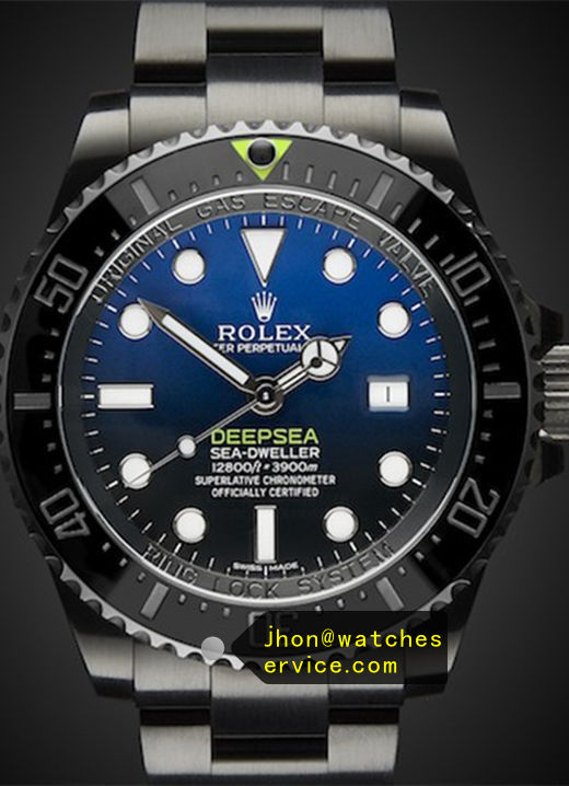 Replica Rolex Deep-Sea 116660 Black PVD Watch