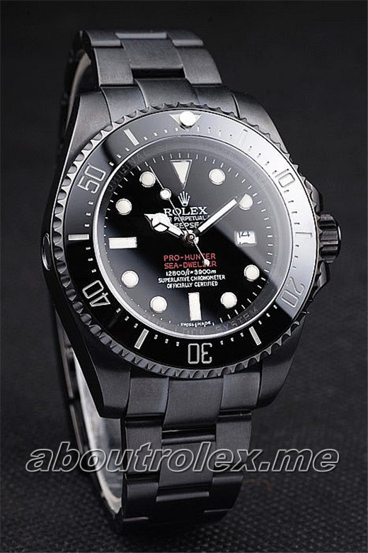 Best Rolex DeepSea Replica Jacques Piccard Limited