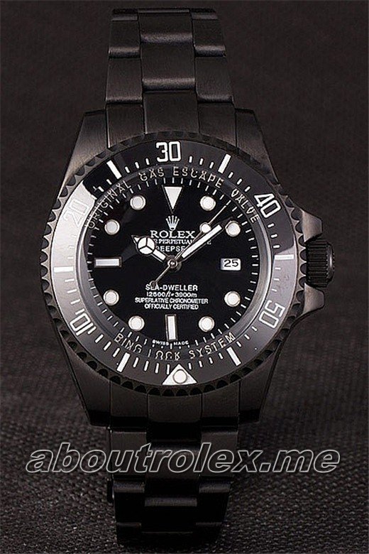 Rolex Sea Dweller Deepsea PVD-116660 Replica Jacques Piccard Special Edition