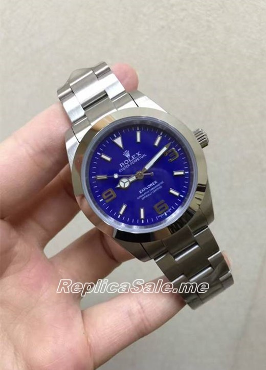Best Rolex Explorer Blue 08B 2016 New
