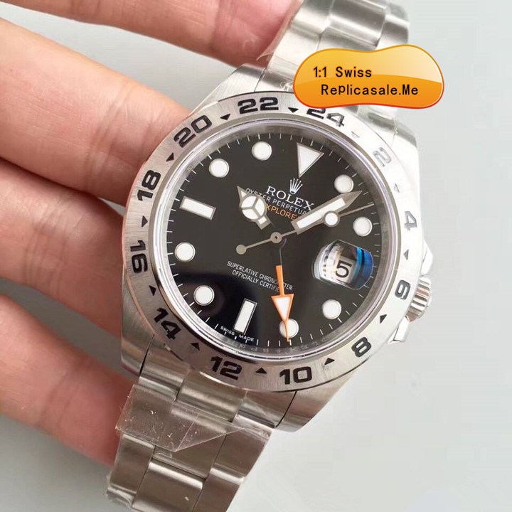 Rolex Explorer II 216570 Black Face 42mm