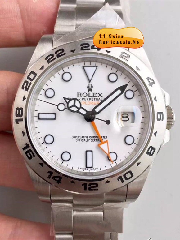 Replica Rolex Explorer II 216570 White Face 42mm