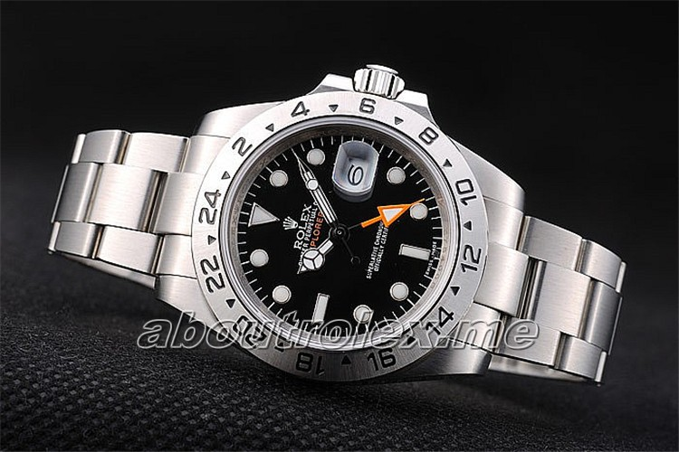 Best Rolex Explorer Replica Stainless Steel Bezel Black