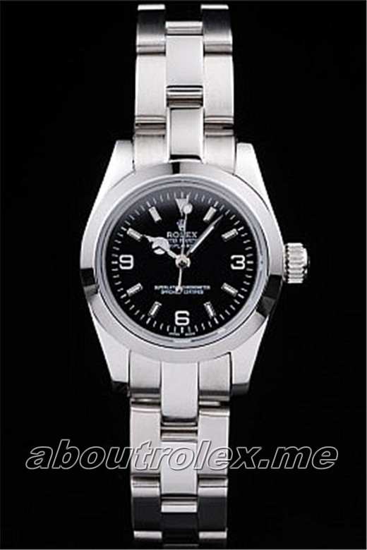 Rolex Explorer Replica Polished Stainless Steel 02A