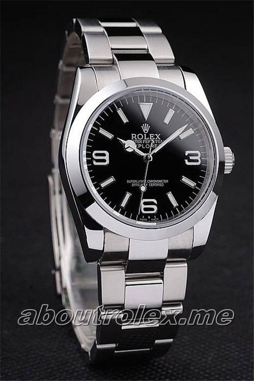 Rolex Explorer I 114270-78690 Polished Stainless Steel Replica