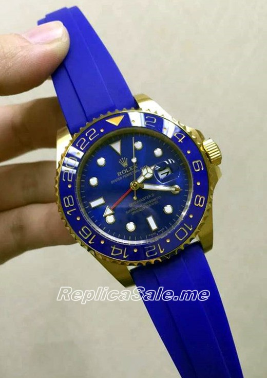 2016 New Made Rolex GMT Master All Blue