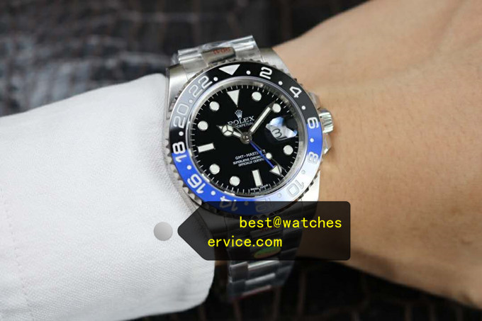2019 Replica Rolex Gmt-II 116710BLNR Ceramic Bezel Watch
