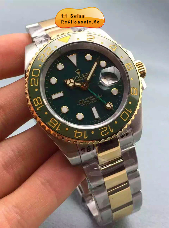 Best Replica Rolex GMT Green Swiss-ETA 3288