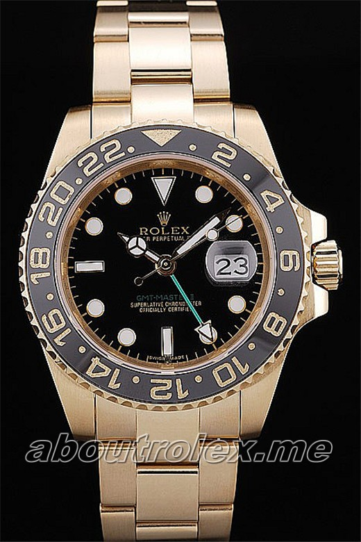 Best Rolex GMT Master II Replica Black Ceramic Tachymeter For Sale