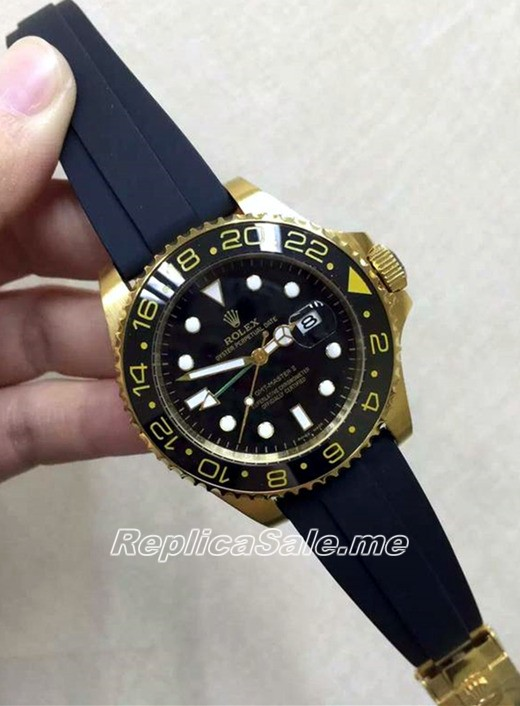 2016 New Made Rolex GMT Master Gold Black