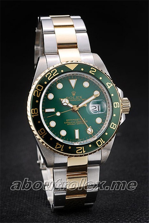 Rolex Gmt Master Ii Replica Green Ceramic Bezel Green Dial