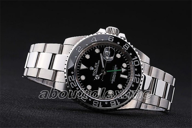 Rolex GMT Master II 116710LN-78200 Replica Black Plate Color
