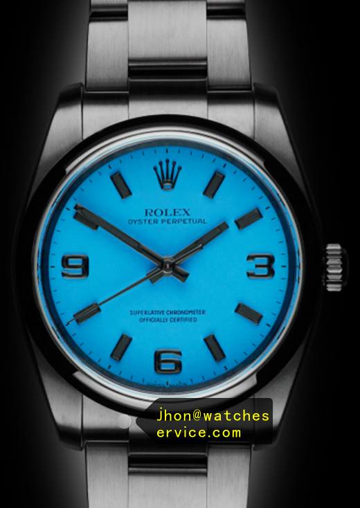 Blue Fake 36MM Rolex Oyster Perpetual 116000 Watch
