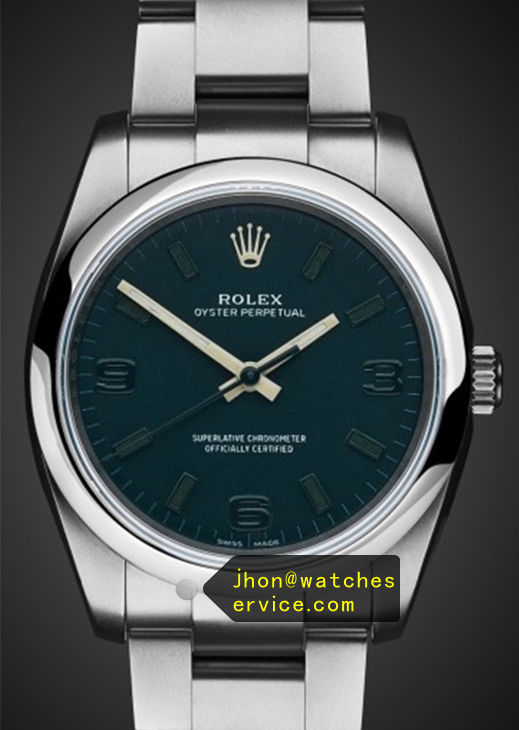 Dark Green Fake 36MM Rolex Oyster Perpetual 116000 Watch