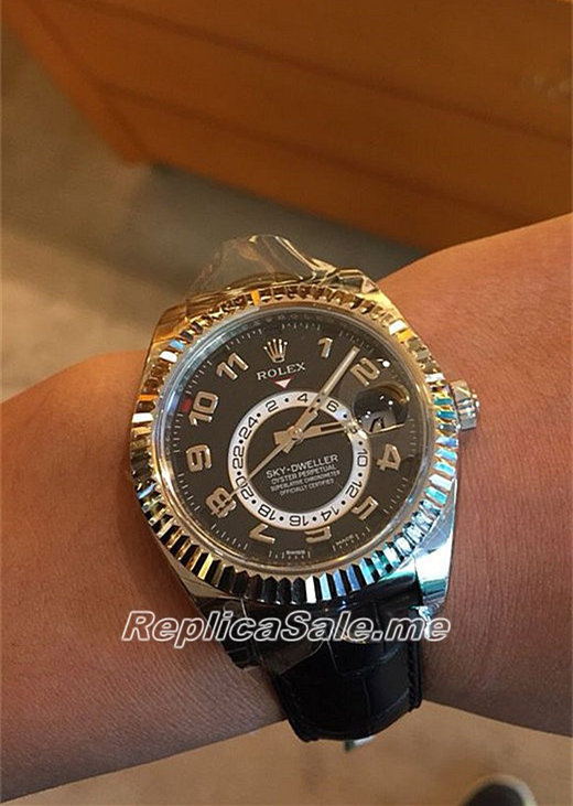 Rolex Sky-Dweller 326139 Watch All Black