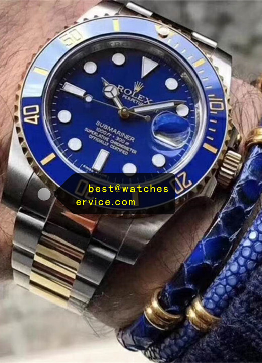 2019 Fake Rolex Submariner 116613LB 904L Steel With Gold Watch