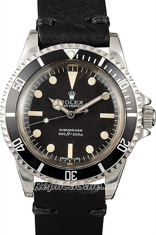 Vintage Rolex Submariner 5513 Watch