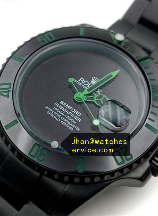 Bamford Submariner Green Pointer Black Watch
