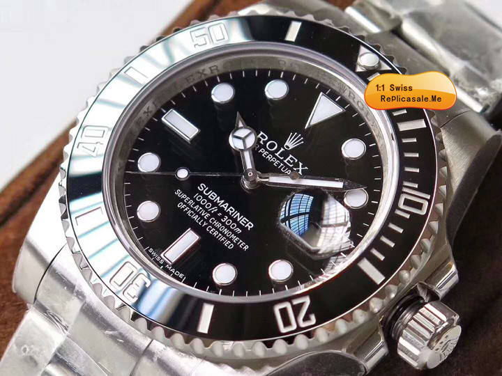 Rolex Submariner 116610 Black Water Ghost 904L Stainless Steel
