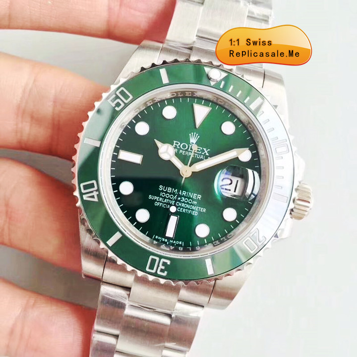 Top Green Fake Rolex Submariner Swiss-ETA-7750 1556B   Sales Best ... 22492784a01