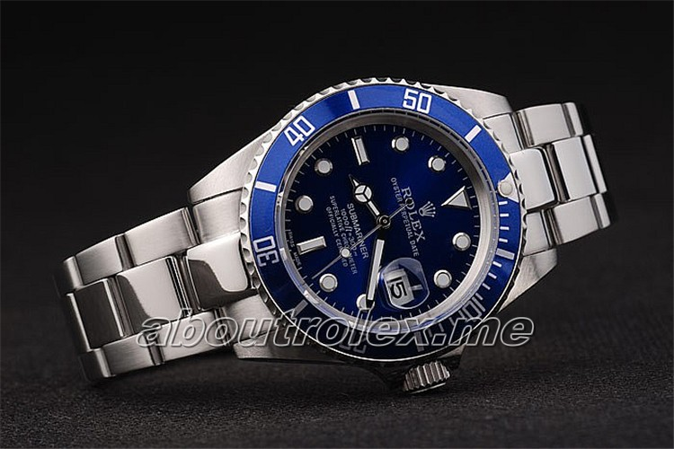 Cheap Rolex Submariner Oyster Perpetual Blue Plate 116619LB
