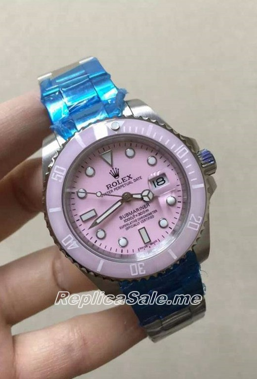 2016 New Made Rolex Submariner Pink
