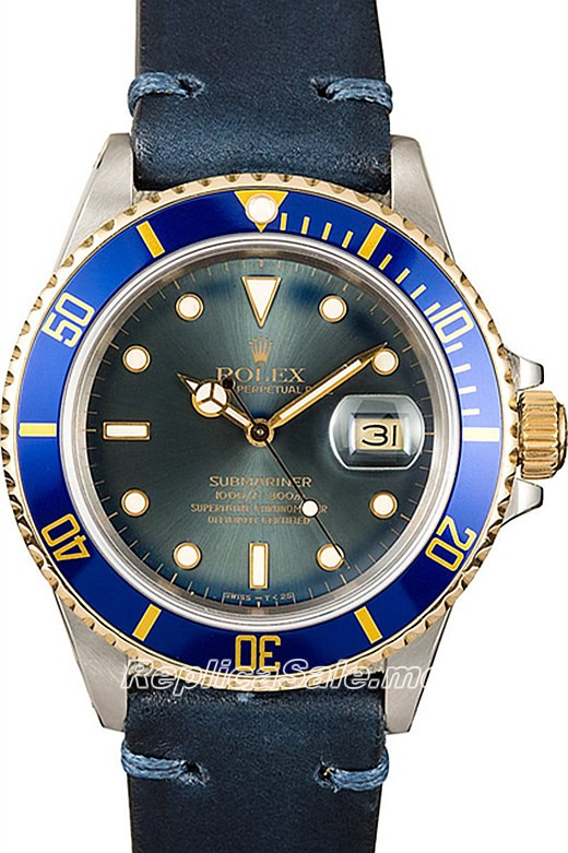Rolex Submariner 16803 Vintage Blue 08C