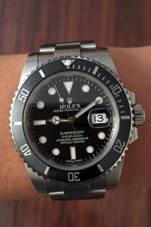 Replica Rolex Submariner 116610LN-97200 Black