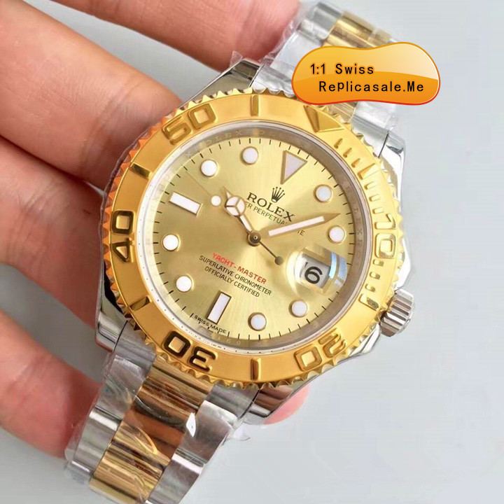 Rolex Yachtmaster Rose Gold Face Swiss-ETA 1297H